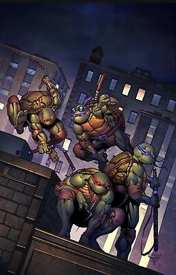 Teenage Mutant Ninja Turtles Urban Legends #1 Planet Awesome Sajad Shah Variant