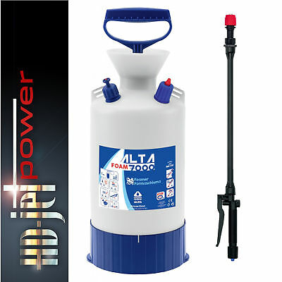Alta 7000 Snow Foam Pressure Sprayer Foamer 7 Litre Pump Action by Di Martino