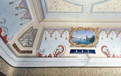 Italian Palace with Fresco Artisan Ceilings in Italy