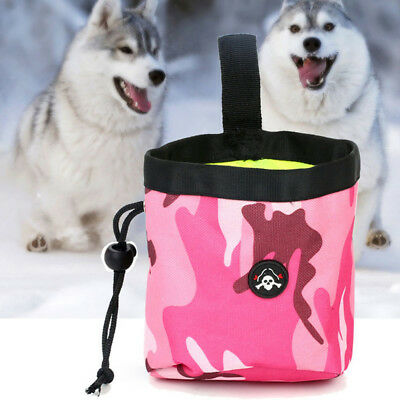 Doggie Puppy Feed Portable Snack Reward Pouch Dog Training Pet Treat Bags