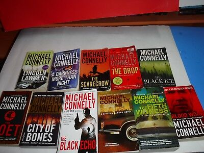 Lot Of 11 Mystery Novels By Michael Connelly