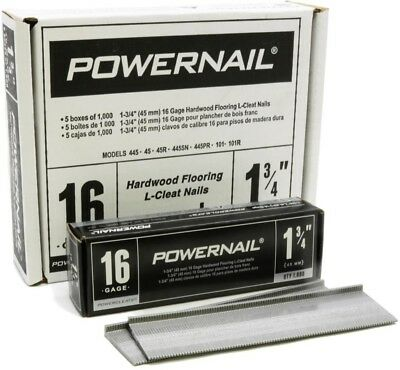 POWERNAIL 1-3/4 In. X 16-Gauge Powercleats Hardwood Flooring Nails (5000-Pack)