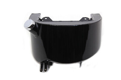 Black Oil Tank 4 Spigot,for Harley Davidson motorcycles,by V-Twin