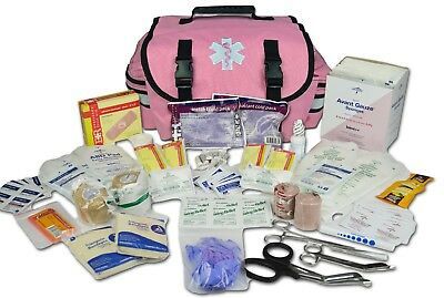 Lightning X Small First Responder EMT EMS Trauma Bag Stocked First Aid Fill Kit
