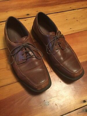 1571378401 Bostonian Mens 10.5 M Ipswich Lace Up Brown Leather Dress Men Oxford Shoes  25886
