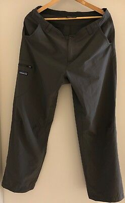 "Patagonia Rock Craft Pants - Mens - Waist 34"" - Inseam 30"" - Grey"