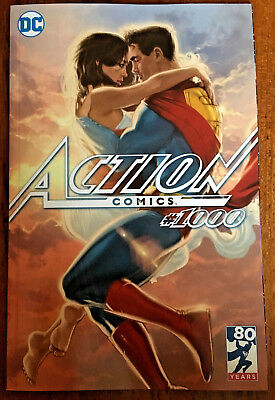 Action Comics #1000 Kaare Andrews Third Eye Comics Variant cover  NM
