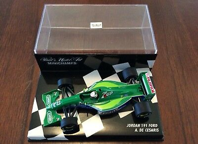 Minichamps 1:43 Jordan 191 A De Cesaris British GP 1991