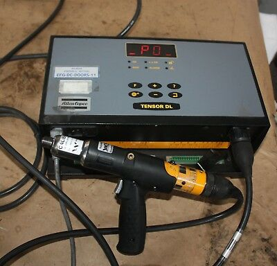 Atlas Copco D313-DL-ADVANCED Tensor DL Torque tool nut runner & Controller Cable