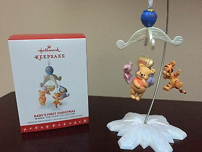 2016 Hallmark Ornament Baby's First Christmas      Winnie The Pooh Collection