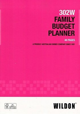 Wildon Family Budget Planner 302W 48 pages ***33698***