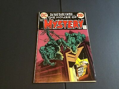 HOUSE OF MYSTERY # 213 (DC) Berni Wrightson Cover!