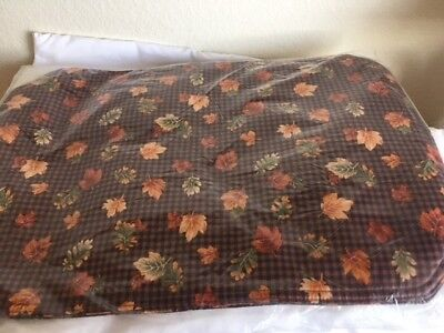 Longaberger Set of 2 Placemats - Fall Gingham - Brand New