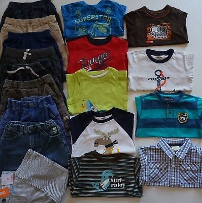 9b0a851582e BABY BOYS SIZE Newborn   0-3 Months Summer Clothes Lot of 18 Items ...