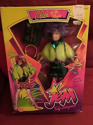 Jem and the Holograms: CLASH of the MISFITS - Hasbro 1987 MIB