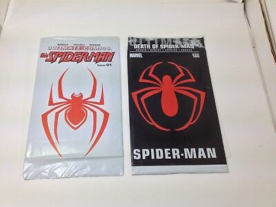 Ultimate Spider-Man #160 (August 2011, Marvel) + Ultimate Comics 1 bagged.