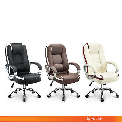 Executive PU Leather Home Office Chair (RHINE RIVER)
