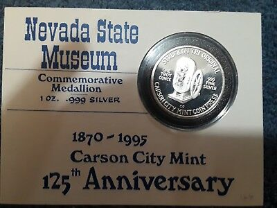 nevada state museum 125th annv carson city mint