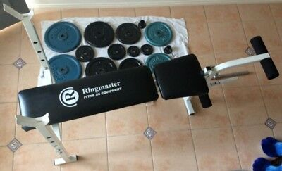 Bench Press with 73kg weights + 7.5kg bar