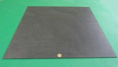 """x 24/"""" x 48/"""" Black ABS Sheet  Smooth on Both Sides 1//8/"""" .125/"""" 2 Units"""