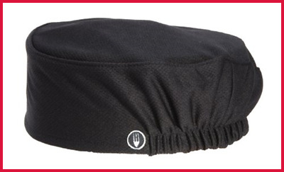 Chef Works Men's Total Vent Beanie BLACK One Size