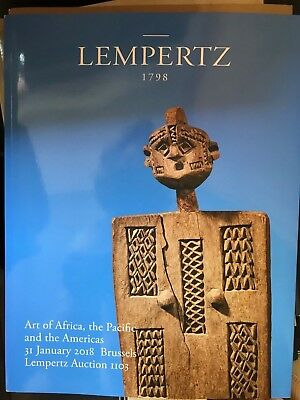 Lempertz A 1103 31.1.2018 Art of Africa, the Pacific and the Americas