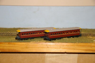 NSWGR - FO Coach Pack - Indian Red - Suburban - Gopher Models - N Scale