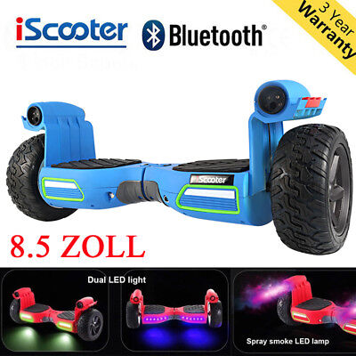 "8.5"" Hoverboard E-Scooter Bluetooth Electroroller Self Balance Board OFF-Road DE"