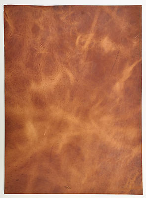 Horween Veg Tan Leather 2.0-2.2 Mm Thick 1 @ 210Mm X 160Mm English Tan Derby