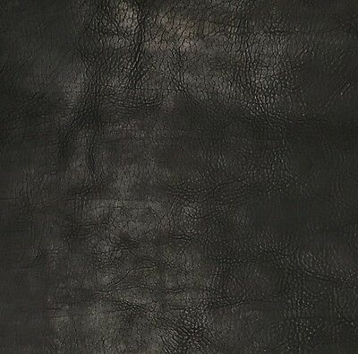 Horween Derby Veg Tan Leather 2.0-2.2 Mm Thick 1 @ 340Mm X 300Mm Black Notebook
