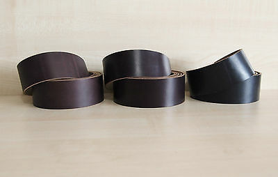 Horween Chromexcel Belting & Strap Blanks 2.2 mm Thick Various Sizes Pull Up