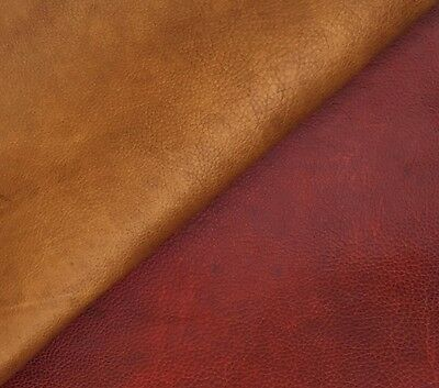 HORWEEN BUCKAROO SIDES, COWHIDE LEATHER, 2 mm THICK, ASSORTED COLOURS & SIZES