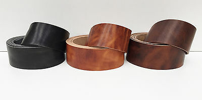 HORWEEN DERBY SIDES LEATHER BELT & STRAP BLANKS, 2.2 mm THICK ASSORTED COLOURS