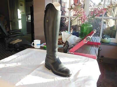 Fabulous Brogini Black Leather Long Riding Boots Size;38 Width;37 Height;43 New
