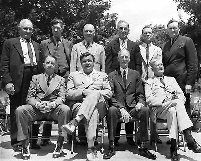 Inaugural Inductees To The Baseball Hall Of Fame - 8X10 Sports Photo (Cc644)