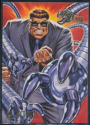 1995 Fleer Ultra Spider-Man Premiere Trading Card #19 Dr. Octopus