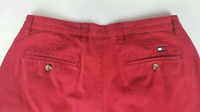 Tommy Hilfiger Men/'s Cedona Flat Front Short with Belt Purple Size 35 36 New