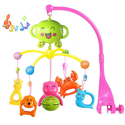 Baby Nursery Cot Mobile with Musical Soft Lullaby Music
