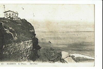 CPA - Carte postale -France - Biarritz - Le Phare -1919   S391