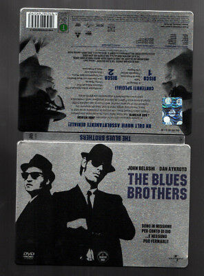 """2 Dvd """"the Blues Brothers"""" Edizione Speciale, Universal 2009 Argentato - Mint"""