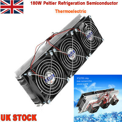 Semiconductor Refrigeration Pieces Kit Thermoelectric Peltier Air Cooling Device