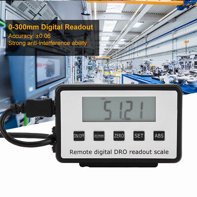 0-300mm Digital Linear Scale LCD Readout Kit for Milling Machines Lathes