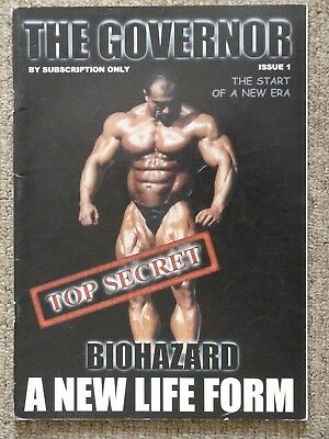 The Governor Magazine Paul Borresen Issue 1 Super Rare Steroids Bodybuilding