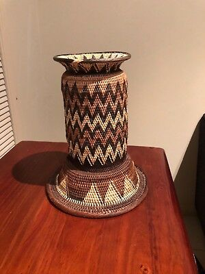 Handmade Baskets  Vases from Natural Bush Vines from Papua New Guinea