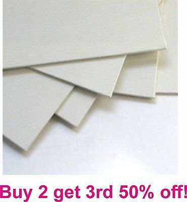 CANVAS BOARD PANEL PRIMED BLANK ACRYLIC OIL 100 percent COTTON ARTIST ART CRAFT