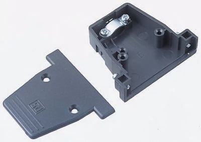 RS Pro PET D-sub Connector Backshell, 50 Way