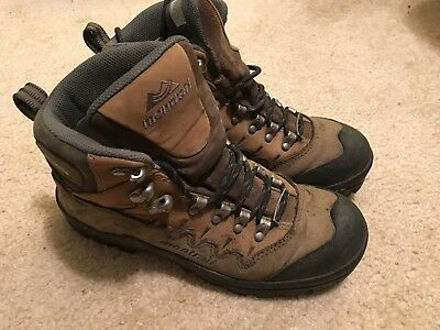 bd285d73833 MONTRAIL WOMEN'S SIZE 7 Hiking GORE-TEX WATERPROOF Brown Leather Boots
