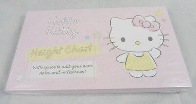 Hallmark Hello Kitty Card Height Chart Wall Mounted Growth Chart NEW