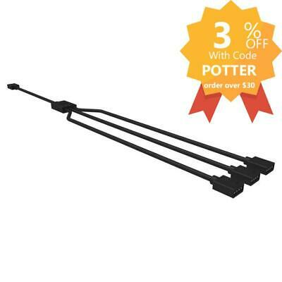 Cooler Master 1-to-3 RGB Splitter Cable 5-Pin 4-Pin RGB Header Compatible 58cm L