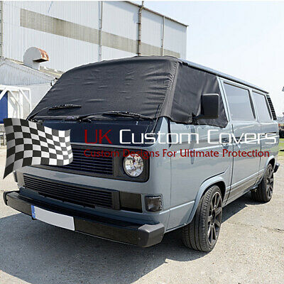 Vw T25 Transporter Camper Screen Frost Wrap Cover 295 Black